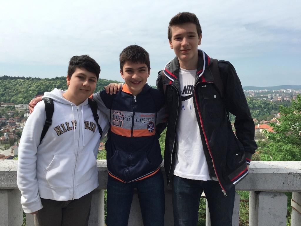 My Bulgarian Guides 'Taylor', 'Nicolas' and 'Rado'